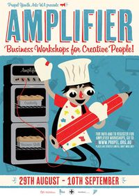 AMPLIFIER 2011 Oven Poster